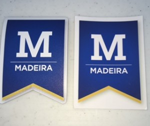 Madeira Car Magnet & Sticker