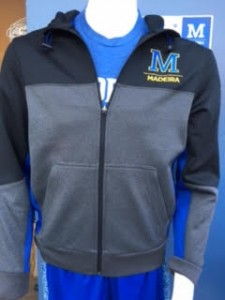Men's fit full zip Adult sizes